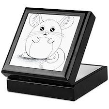 Chinchilla Sketch Keepsake Box