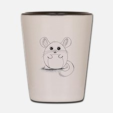 Chinchilla Sketch Shot Glass