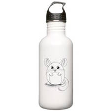 Chinchilla Sketch Water Bottle