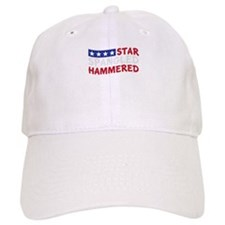 Star Spangled Hammered-01-01 Baseball Baseball Cap