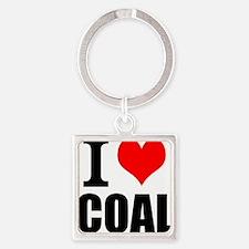I Love Coal Keychains