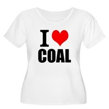I Love Coal Plus Size T-Shirt