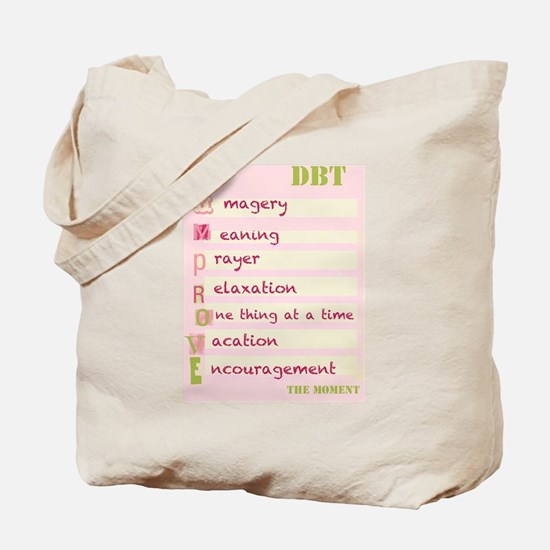 DBT Skills IMPROVE Tote Bag