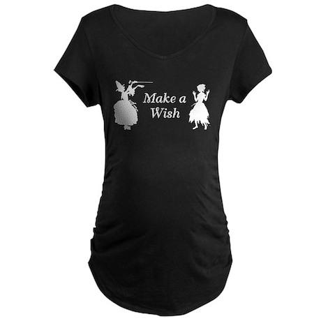 Make a Wish Maternity Dark T-Shirt