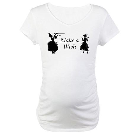Make a Wish Maternity T-Shirt