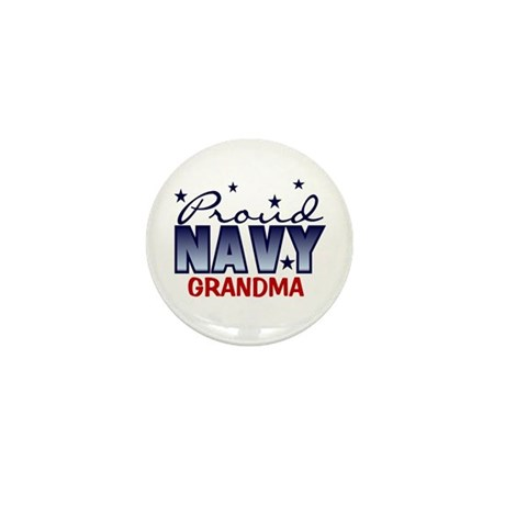 Proud Navy Grandma Mini Button (10 pack)