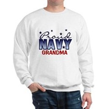 Proud Navy Grandma Sweatshirt