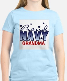 Proud Navy Grandma T-Shirt