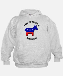 Proud to be a Democrat Hoodie