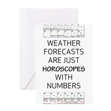 Weather Horoscope Greeting Cards