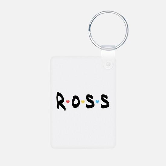 'Ross' Aluminum Photo Keychain