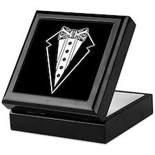 Bow Tie and Black Tux Keepsake Box