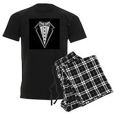 Bow Tie and Black Tux Pajamas