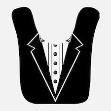 Bow Tie and Black Tux Bib