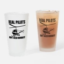 Real Pilots Dont Need Runways - Enstrom Drinking G