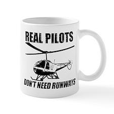 Real Pilots Dont Need Runways - Enstrom Mugs