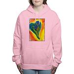 Bright Valentine Women's Hooded Sweatshirt