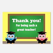 Thank You, Teacher Appreciation, Graduation Owls P