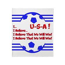 I BELIEVE... Throw Blanket