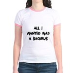 Backrub Jr. Ringer T-Shirt