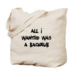 Backrub Tote Bag