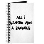 Backrub Journal