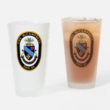 USS McCampbell DDG- 85 Drinking Glass