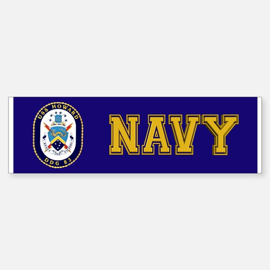 USS Howard DDG-83 Sticker (Bumper)