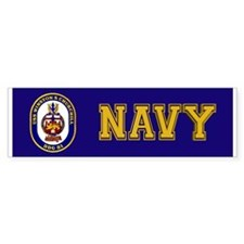 USS Churchill DDG-81 Bumper Sticker