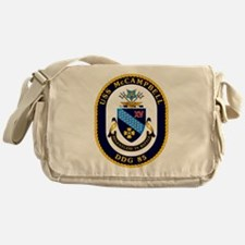 USS McCampbell DDG- 85 Messenger Bag