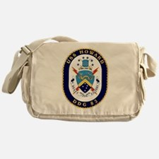 USS Howard DDG-83 Messenger Bag