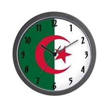 Flag Of Algeria Wall Clock