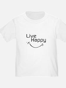 Live Happy T-Shirt