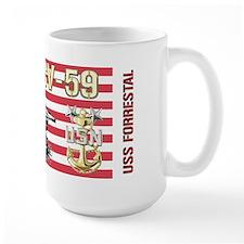 CV-59 USS Forrestal Mugs