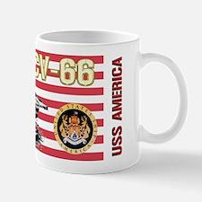 CV-66 USS America Mugs