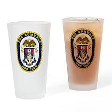 USS Zumwalt DDG 1000 Drinking Glass