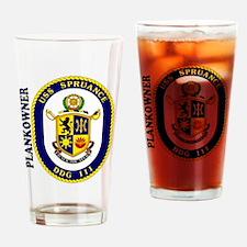 Plankowner DDG 111 Drinking Glass