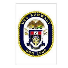 USS Zumwalt DDG 1000 Postcards (Package of 8)