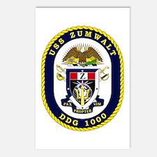 USS Zumwalt DDG 1000 Postcards (Package of 8)