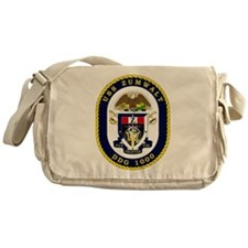 USS Zumwalt DDG 1000 Messenger Bag