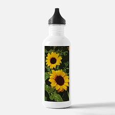 Funny Sunflower garden Water Bottle
