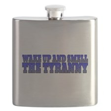 Wake up and smell the tyranny Flask