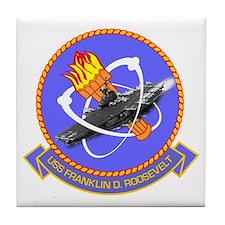 Uss Franklin D. Roosevelt Cvb-42 Tile Coaster