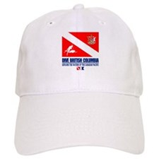 Dive British Columbia Baseball Baseball Cap