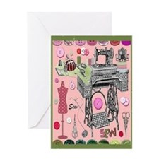 Sew-Sew Card Greeting Cards