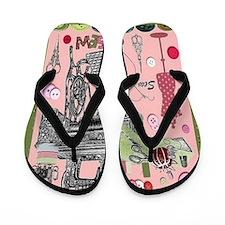 Sew-Sew Flip Flops