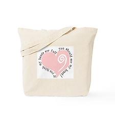 Full Hands, Full Heart Tote Bag