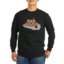 Chillaxin Dog Long Sleeve T-Shirt