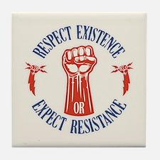 Expect Respect Tile Coaster