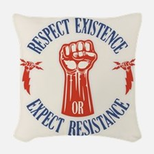 Expect Respect Woven Throw Pillow